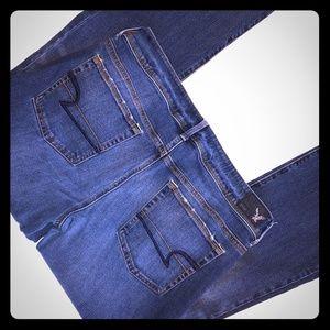 American Eagle Kick Boot Jeans 12